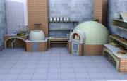 Строительство каменных печей.