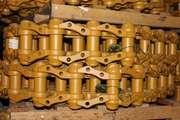 Гусеничная цепь на Komatsu D85 (38 звеньев)