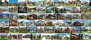Строительство коттеджей и зданий из железобетонных панелей,  плит итд