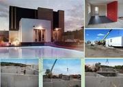 Проект и строительство жилого дома любой площади из сборного железобет