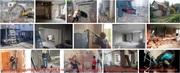 Демонтаж (разборка) строений или слом (снос) зданий,  утилизация