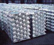 На экспорт алюминиевые чушки марок А7,  А5,  А8 и др.