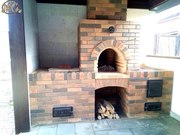 Кладка ремонт печи для дома и бани в Красноярске.